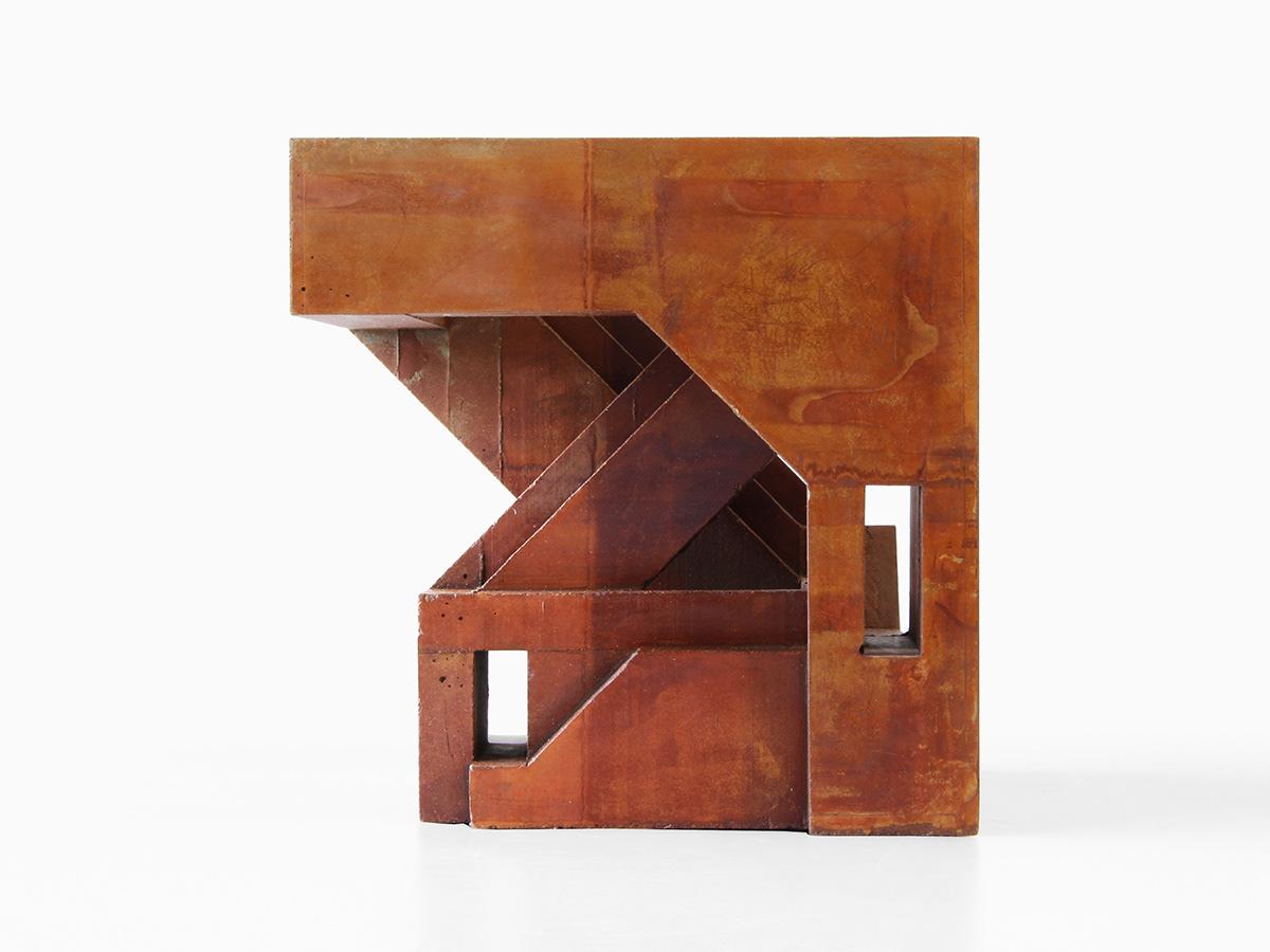 Brutalism Brutalist concrete industrial minimal modernism modernist oxydized rust