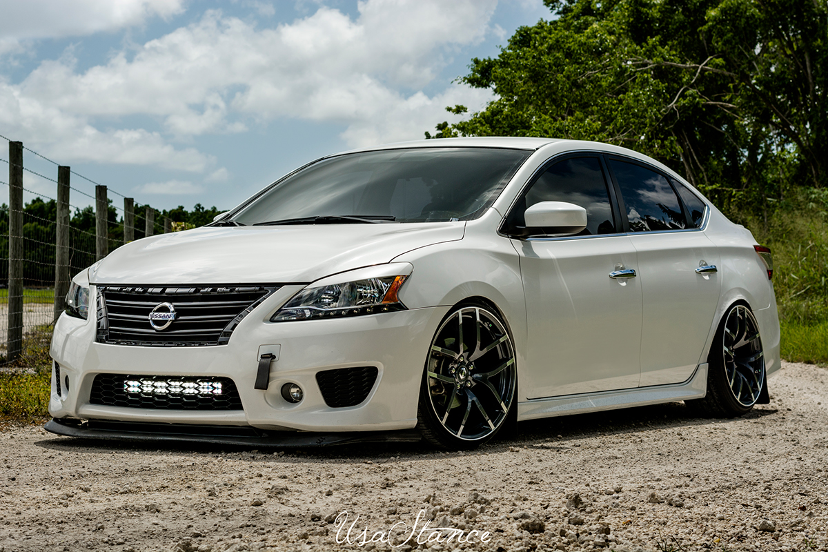 Greg's Static Sentra on Behance