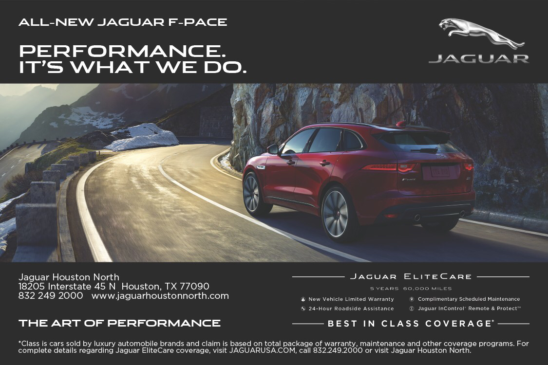 High Quality July Print Ad For Jaguar Houston North On Behance