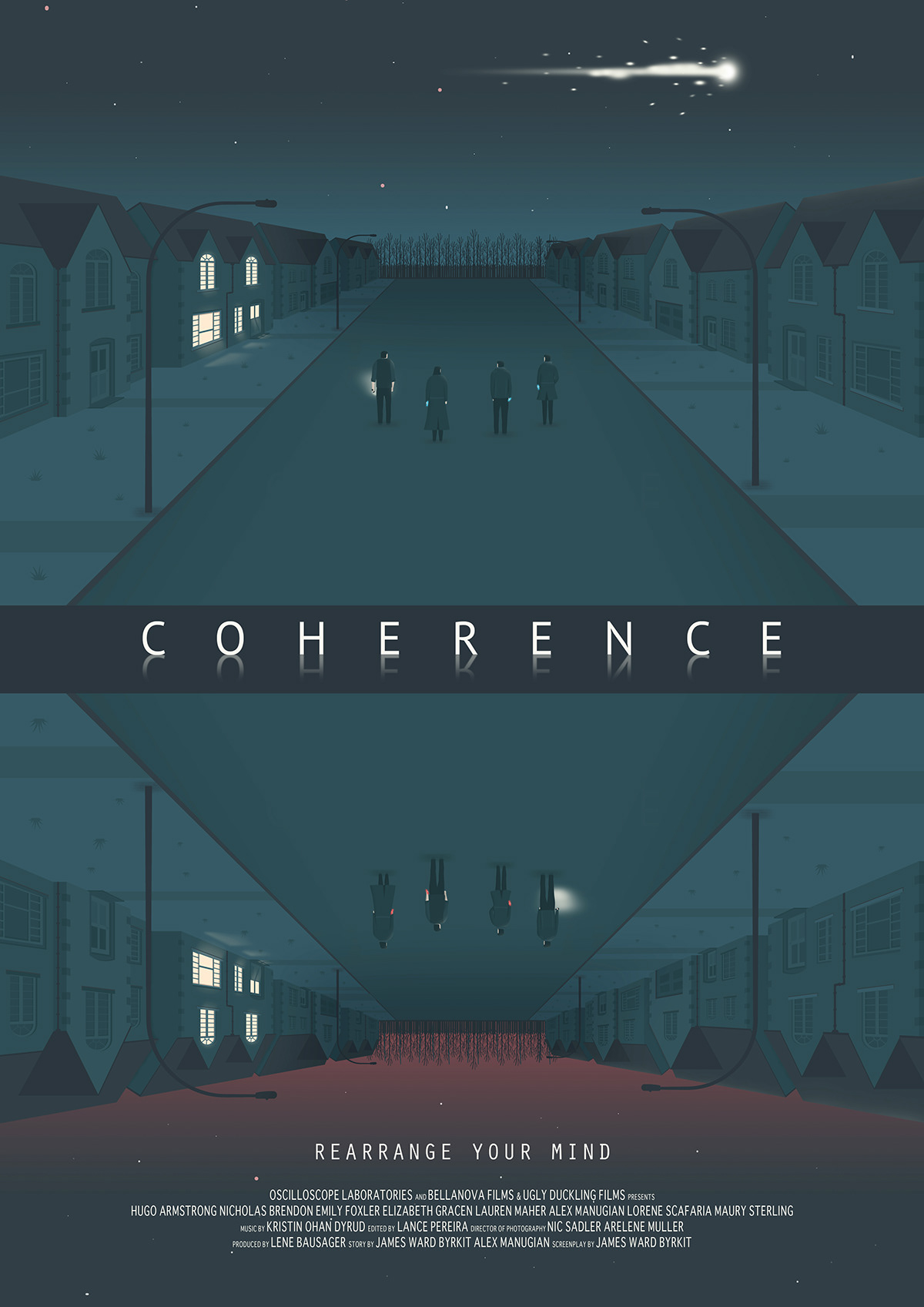 Coherence Film Poster on Behance
