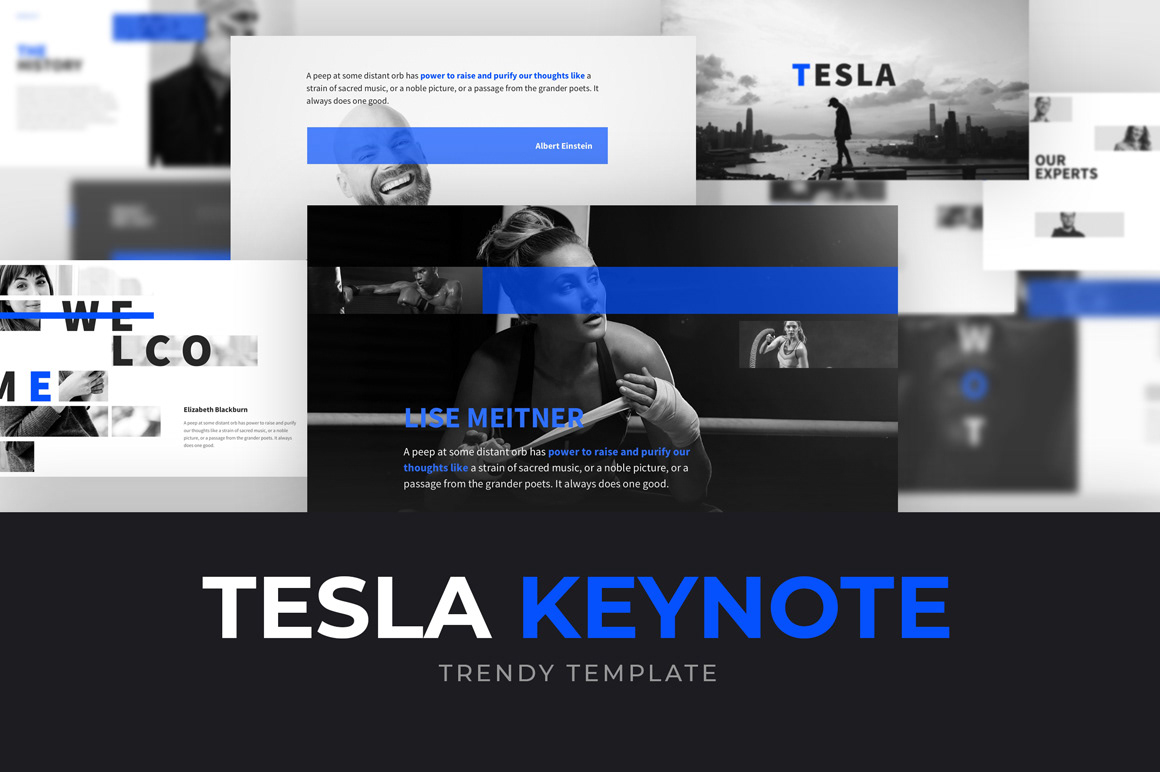 Free Tesla Powerpoint Template On Behance