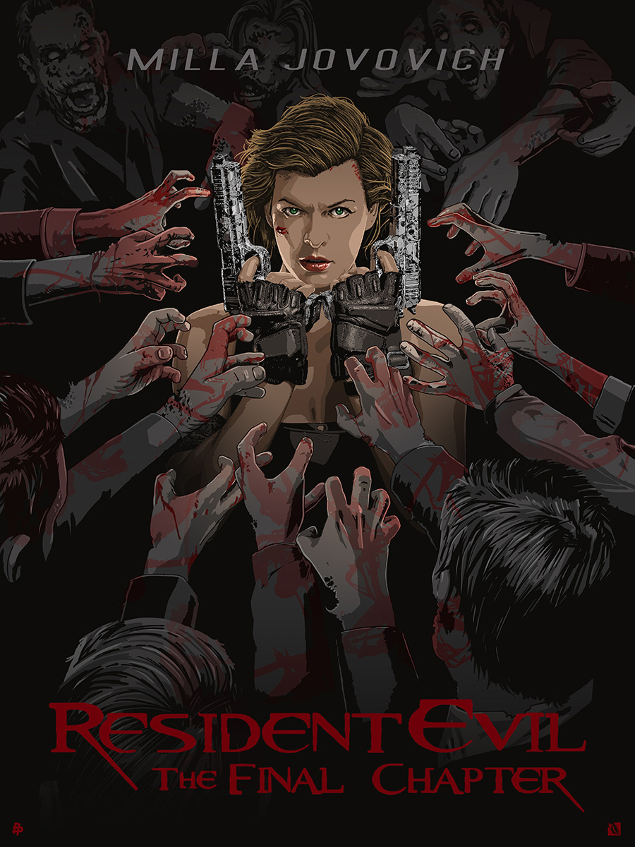 Resident Evil The Final Chapter On Behance