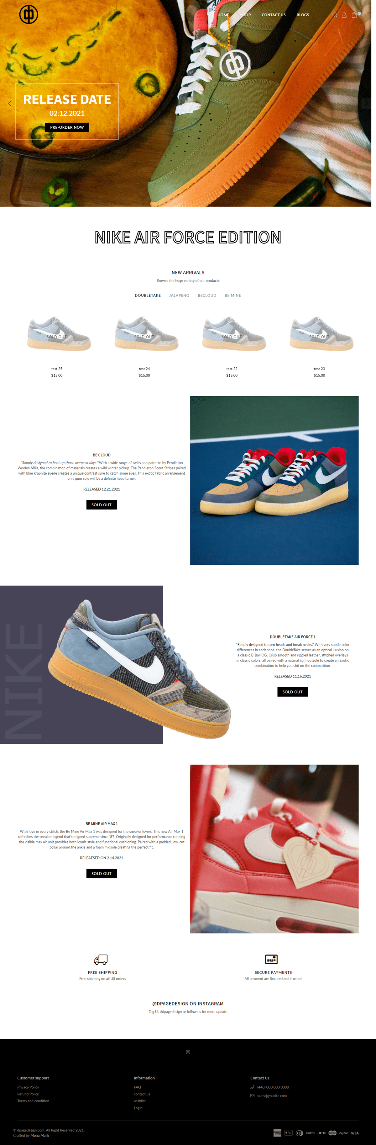 development,Nike,photoshop,Shopify,ua,usa
