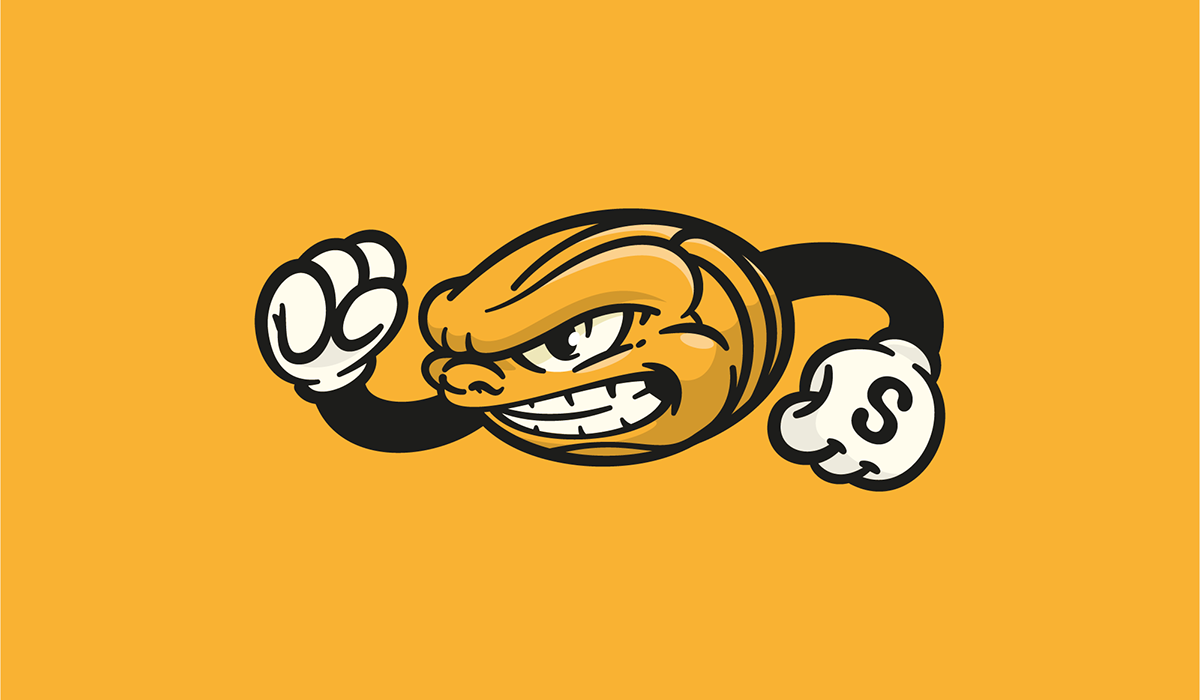 volleyball logo Mascot Character ILLUSTRATION  art direction  graphic design  visual identity sports