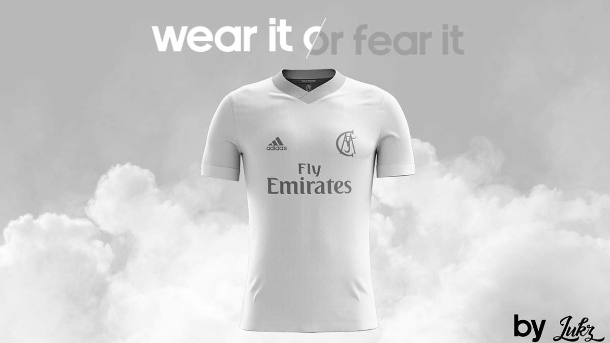 uk availability 9c2cc c7342 Real Madrid Special Kit Home 2017/18 by Lukz on Behance
