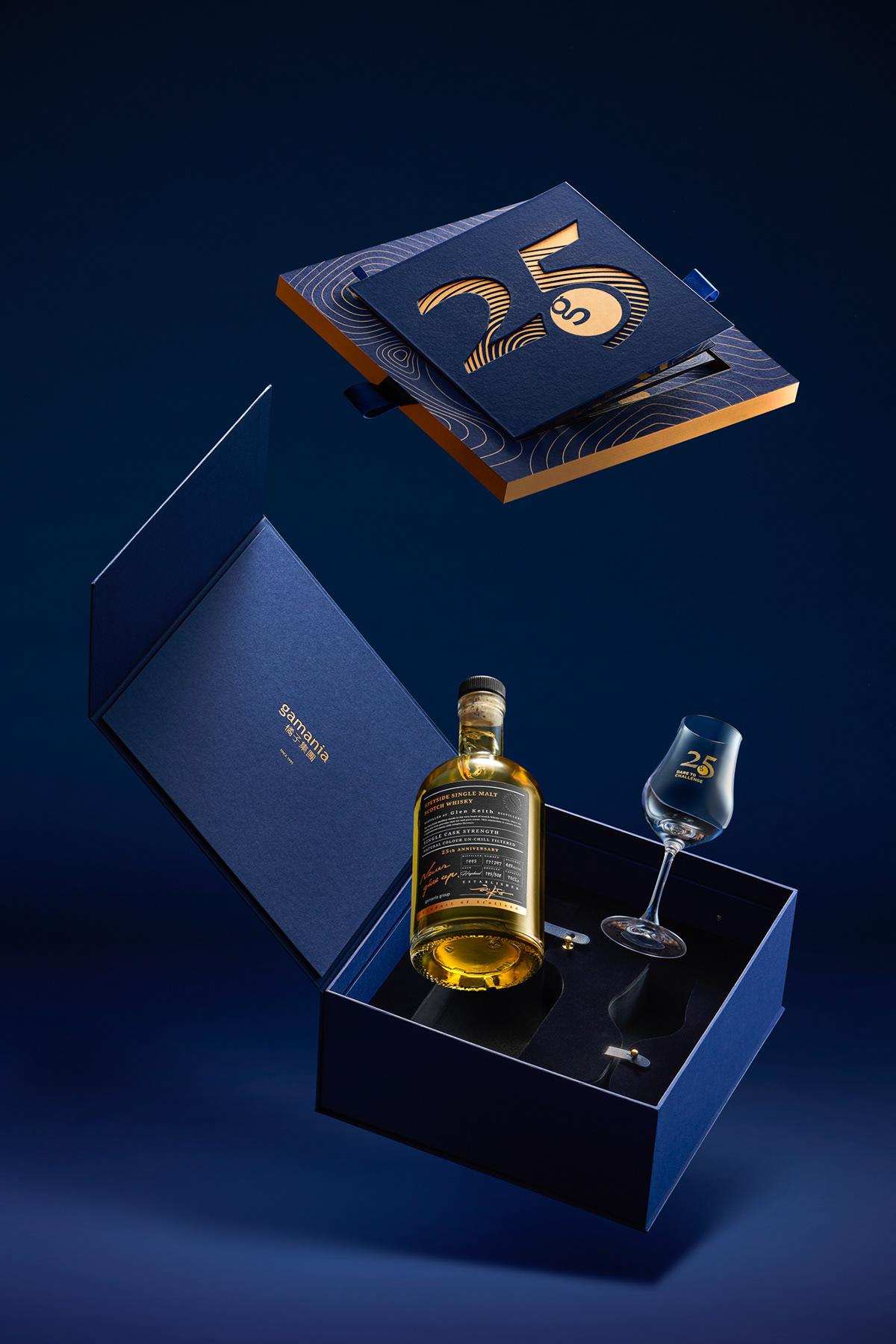 whisky box packaging design