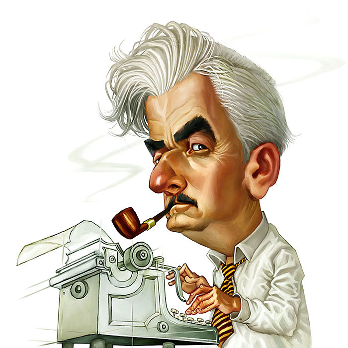 biographical influences essay of william faulkner John hoyer updike (march 18, 1932 – january 27, 2009) was an american novelist, poet, short story writer, art critic, and literary critic one of only three writers.