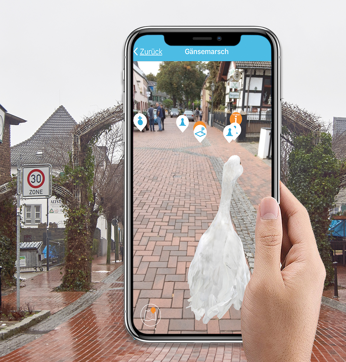 tourism marketing   augmented reality Mobile app android ios AR