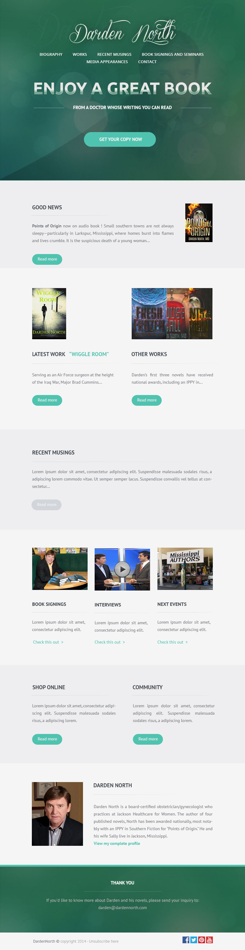 Email Newsletter Template On Behance
