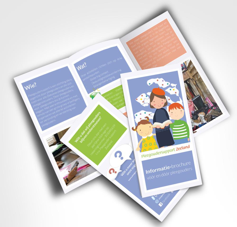 Pleegoudersupport Zeeland brochure Informatievideo