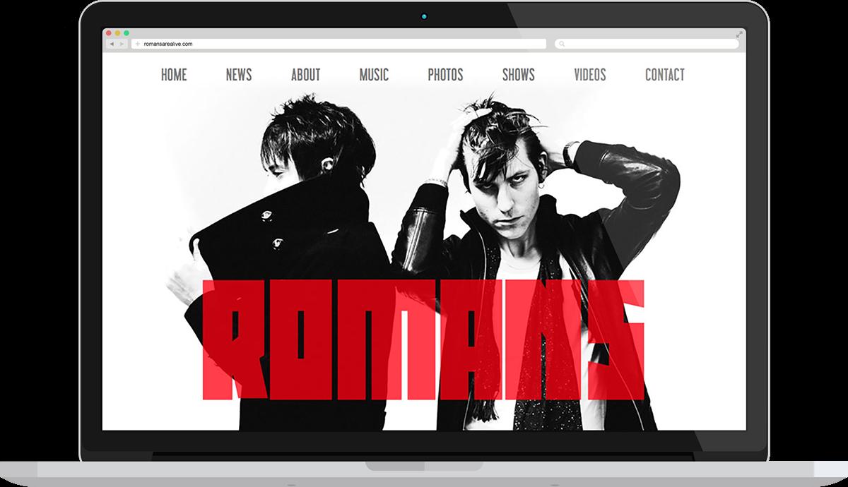 band musician websites