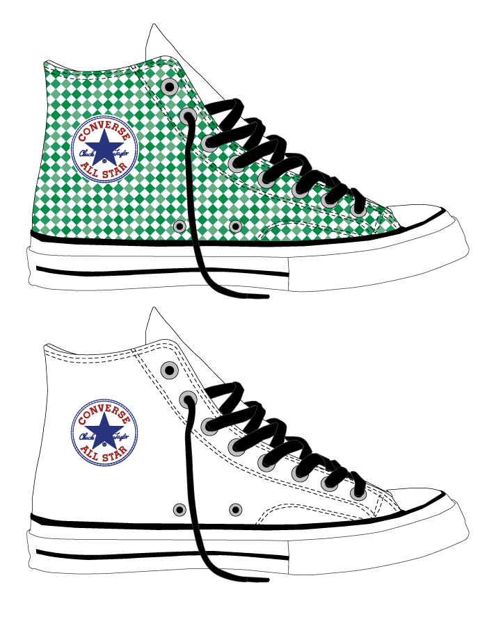 Converse Chuck Taylor All Stars Color Concepts on Behance