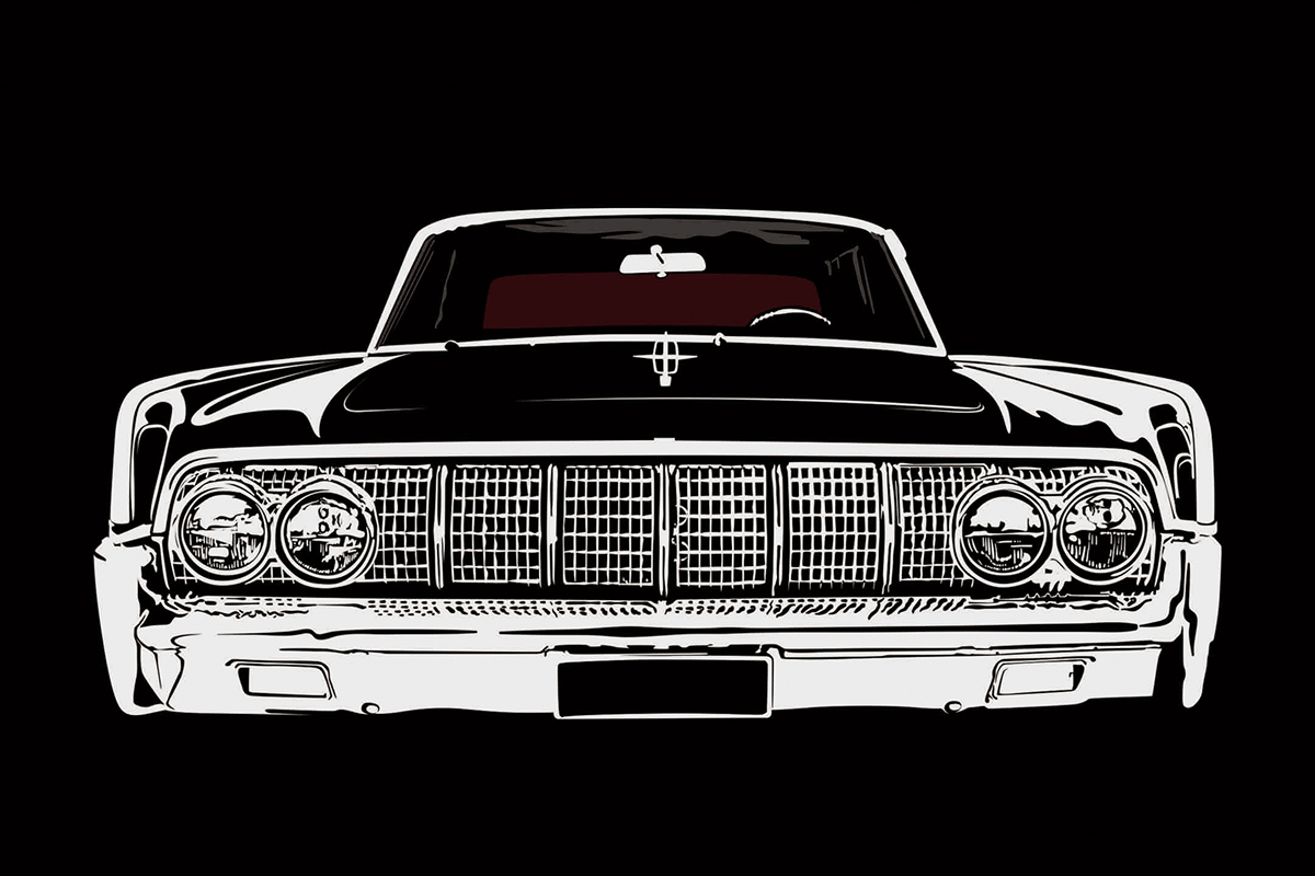 1965 lincoln continental the matrix car on behance. Black Bedroom Furniture Sets. Home Design Ideas