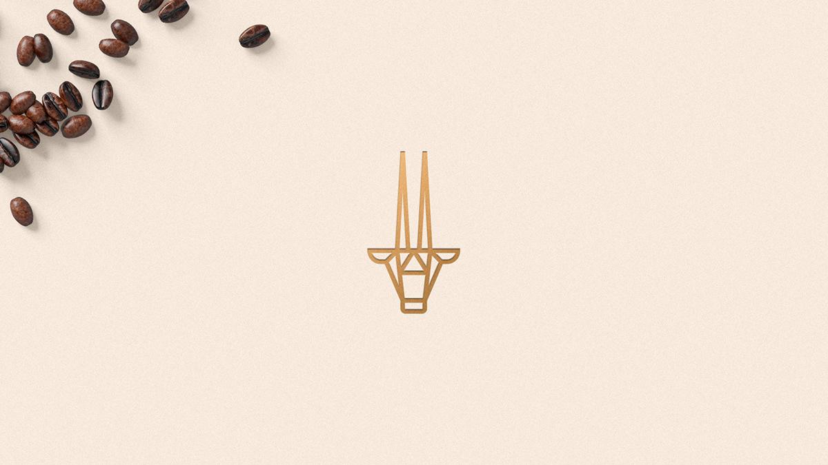 brand cafe Coffee coffee shop logo Oryx Packaging Roaster Saudi Arabia visual identity
