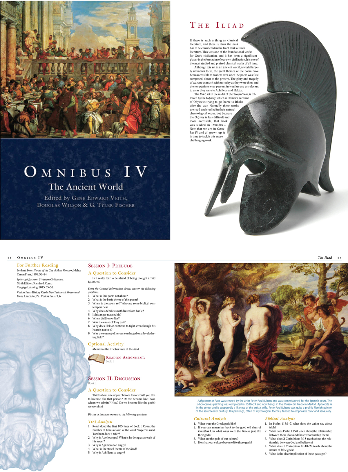 Omnibus Textbooks on Behance