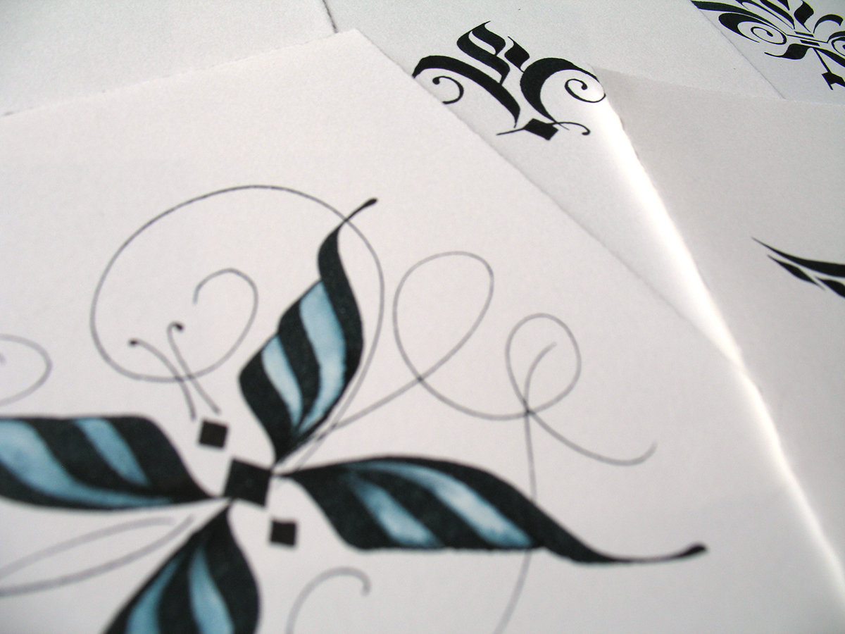 Online Calligraphy Class Calligraphy Stroke Tattoos On