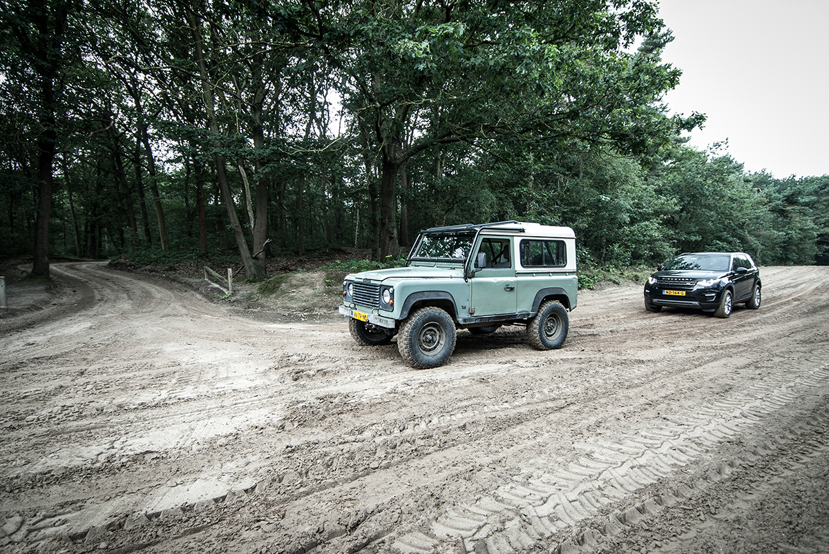 Fields Land Rover >> Land Rover At Military Fields On Behance