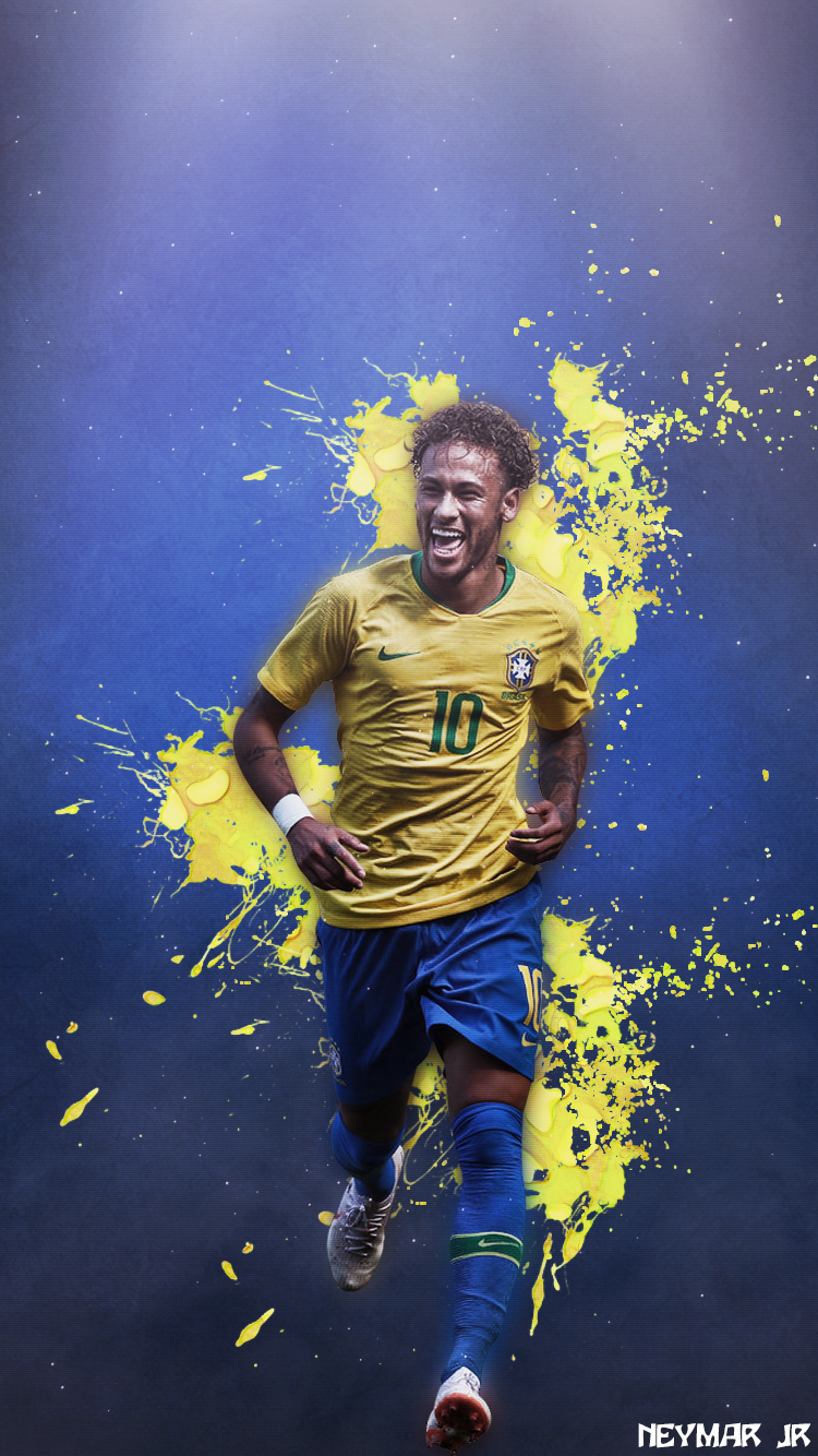 Neymar Phone Wallpaper Design On Behance