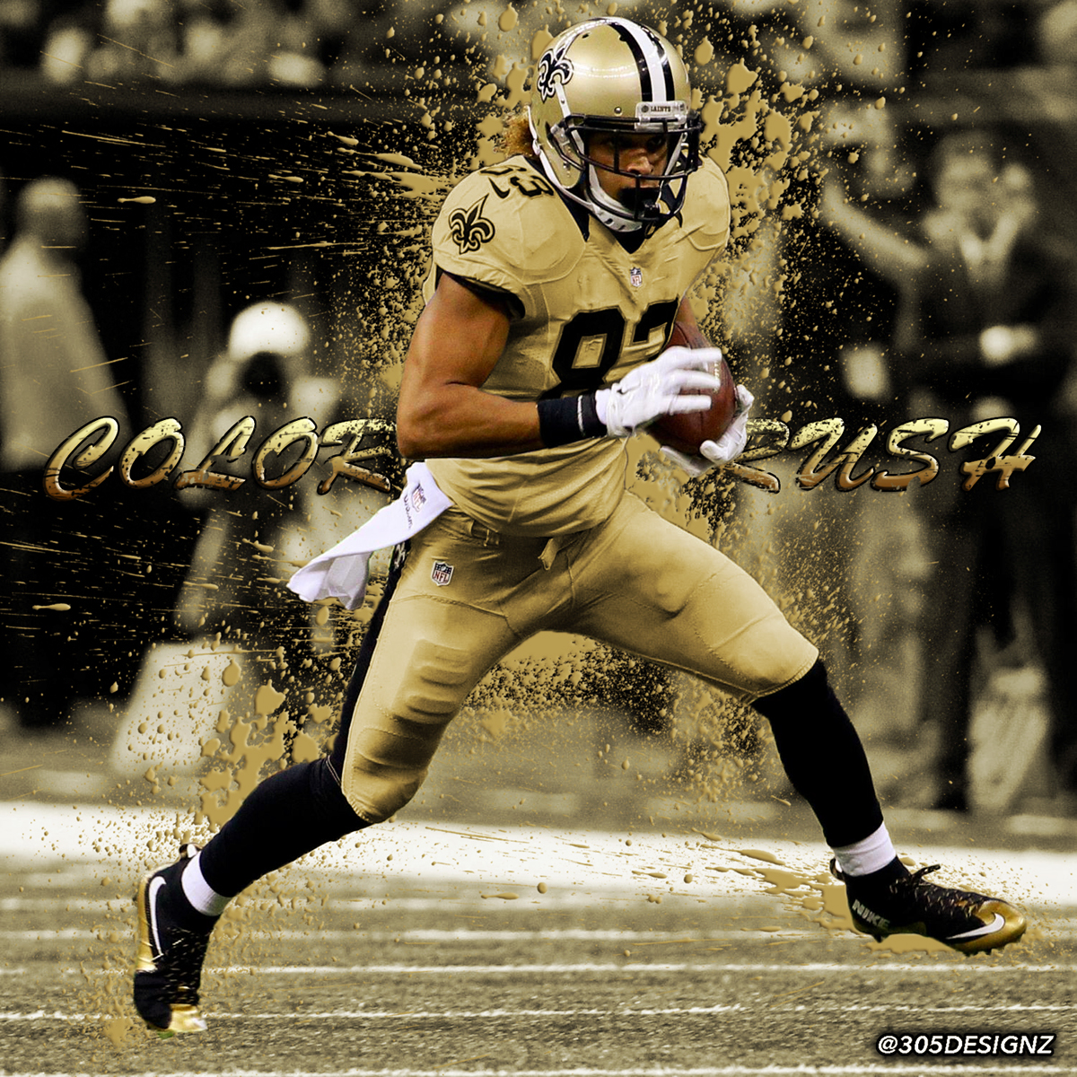 san francisco 0a8f5 04d09 Willie Snead New Orleans Saints color rush concept on Behance