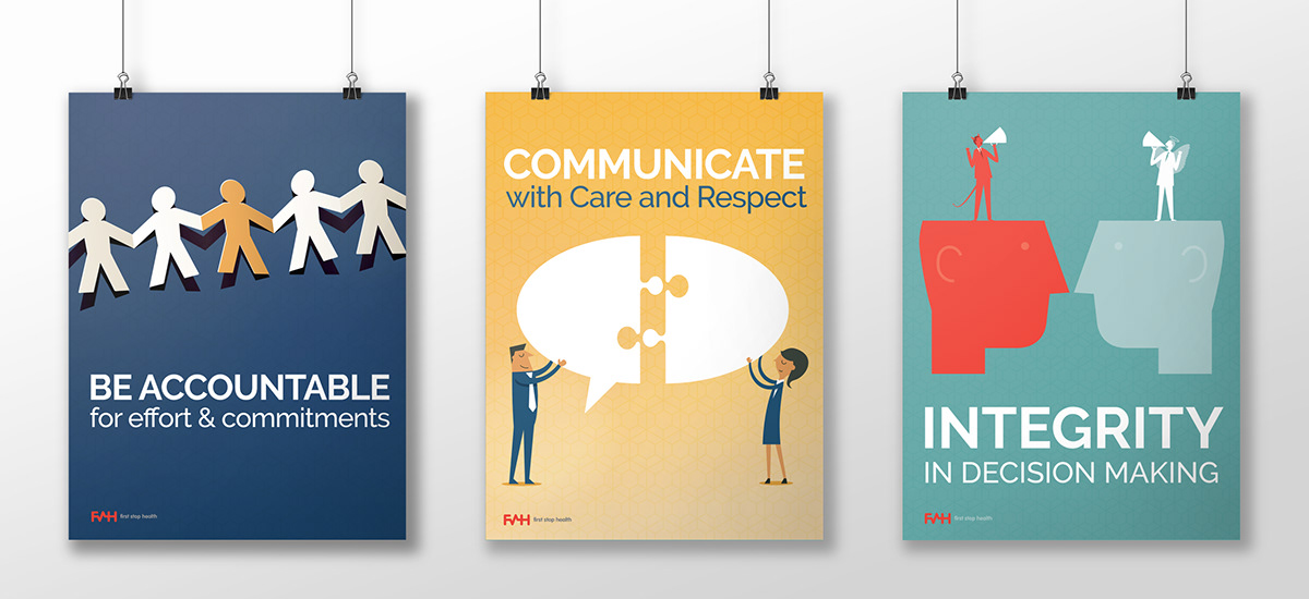 Core Values Posters on RISD Portfolios
