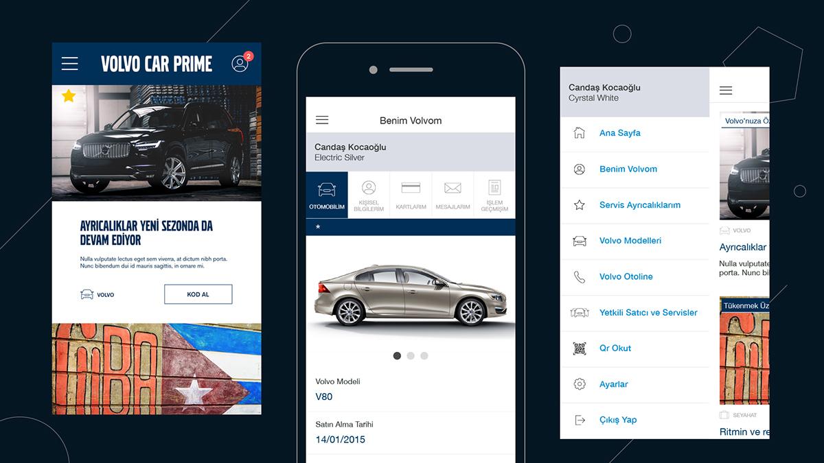 Volvo Car Prime App On Pantone Canvas Gallery