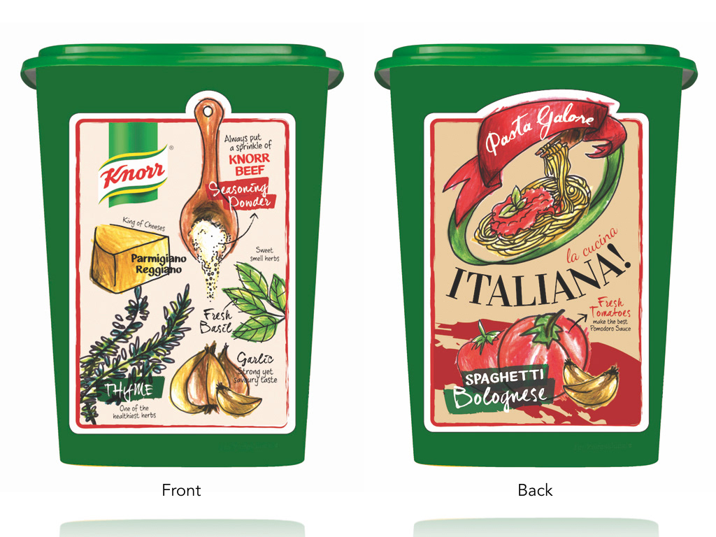 Packaging Design - KNORR World Cuisine Series