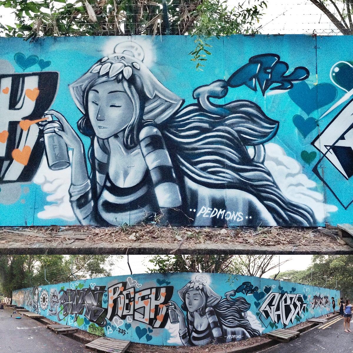 Radical Graff Girl _ Tribute For Rebel Daughters Rose By Pedmons_threeflarekrew