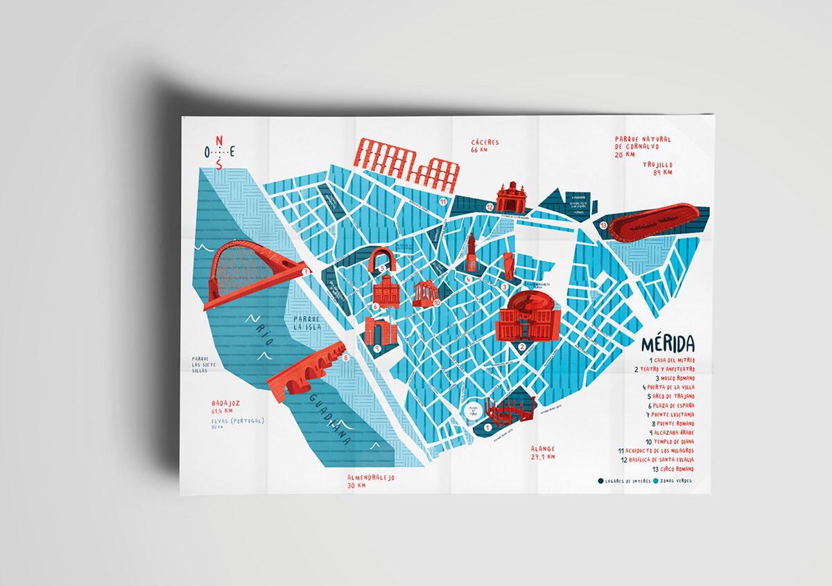 branding  mérida ilustration marca brand design graphic design  editorial design  City branding Place Branding