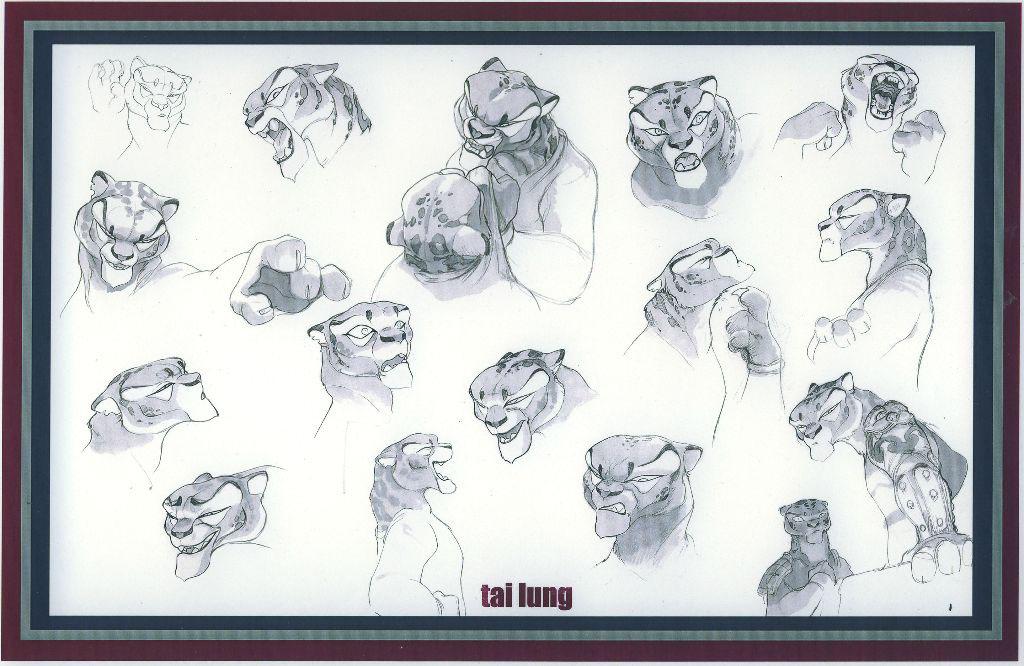 KUNG FU PANDA character design (2008) on Behance
