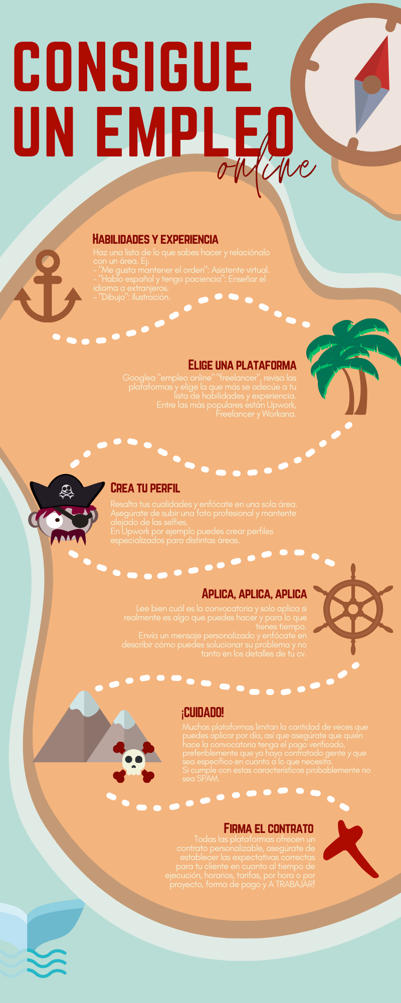color palette graphic design  infographic Island pirates stock icons