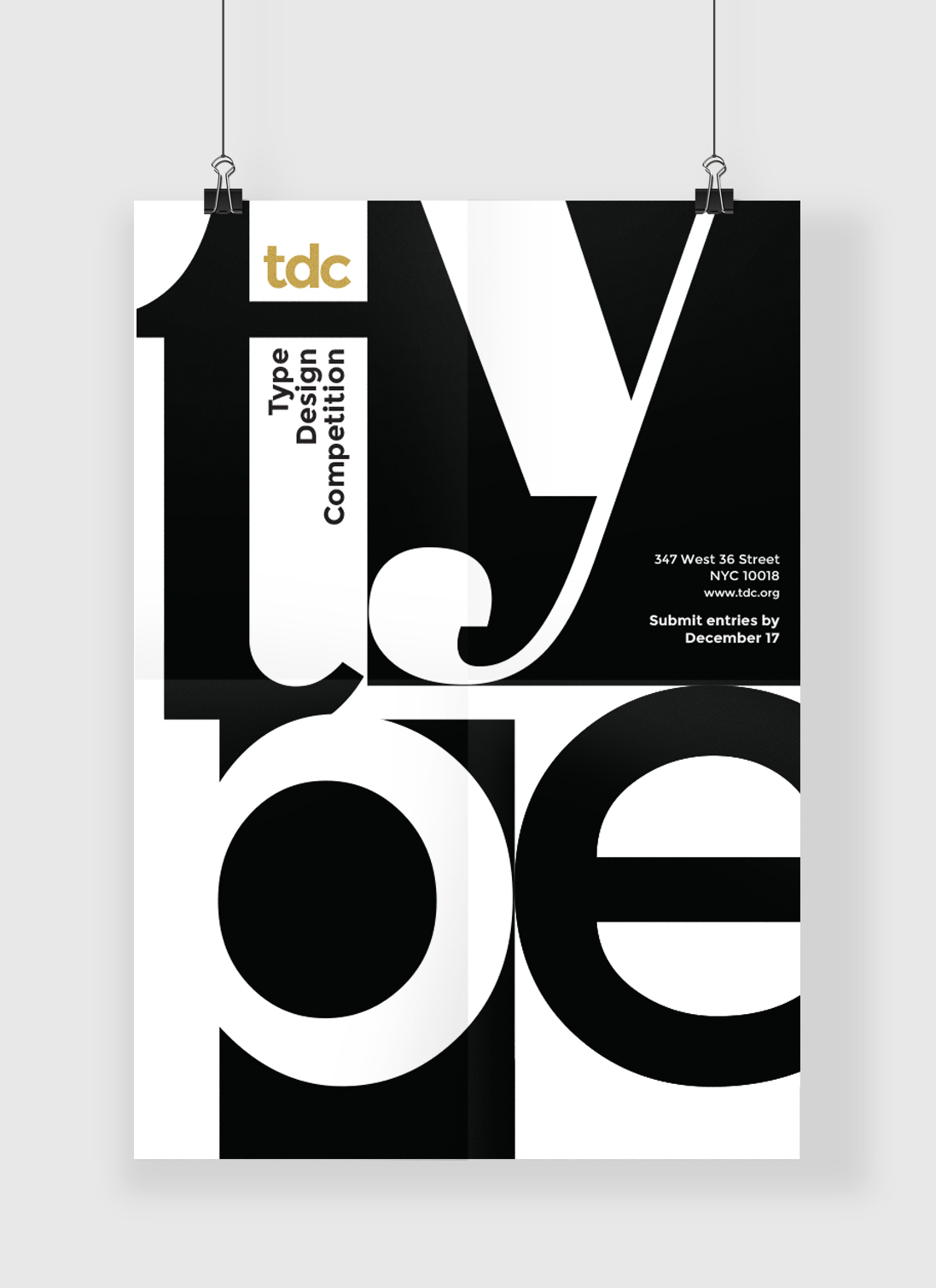 poster banner type aesthetics Functional Design