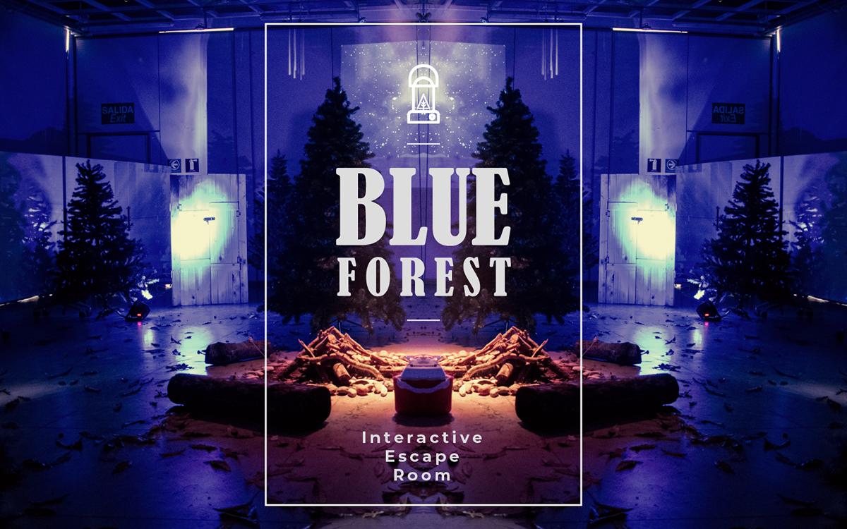 escape room forest interactive universidad de los Andes blue bosque