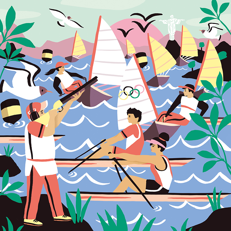 olympic Olympics rio Rio de Janeiro sport sports magazine Sport Magazine sailing rowing shooting Sporty sporting peru