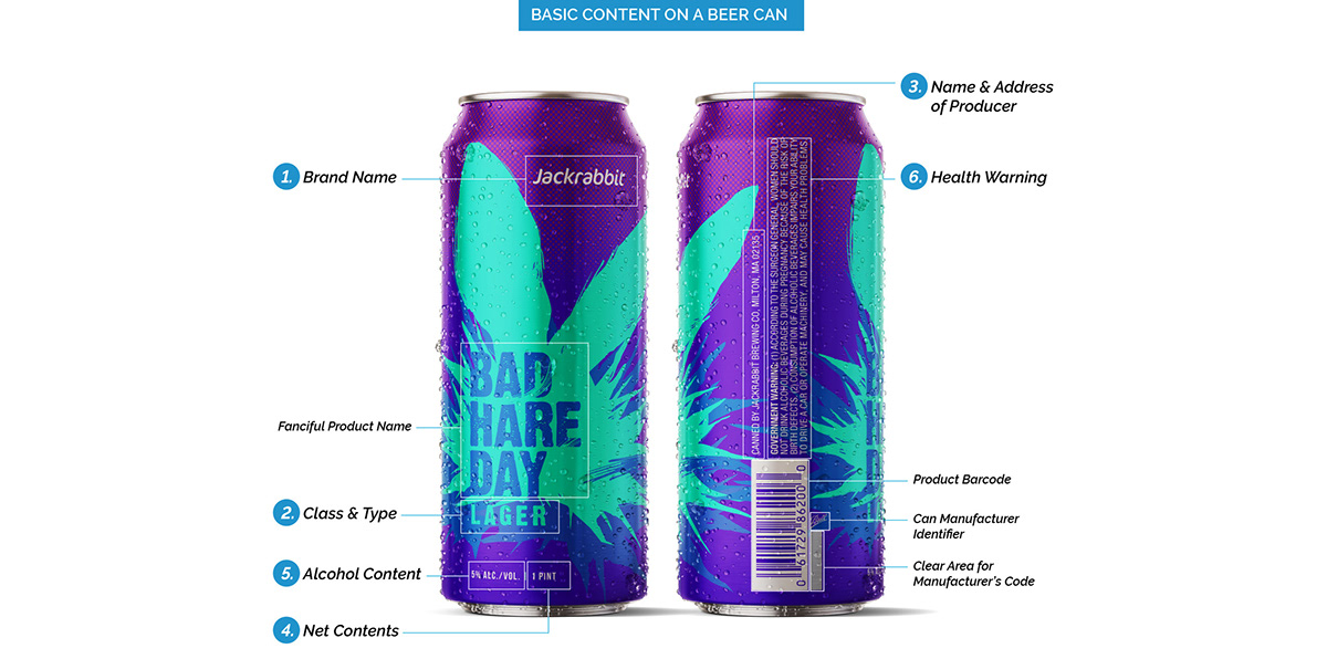 alcohol beer guidelines labels mandatory Packaging Requirements TTB