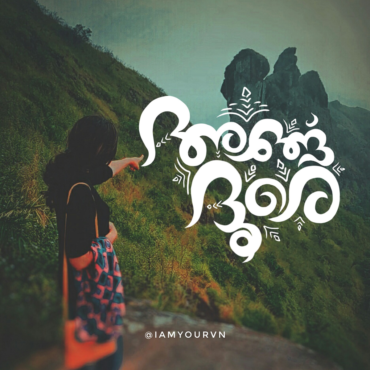 malayalam typography lettering on behance