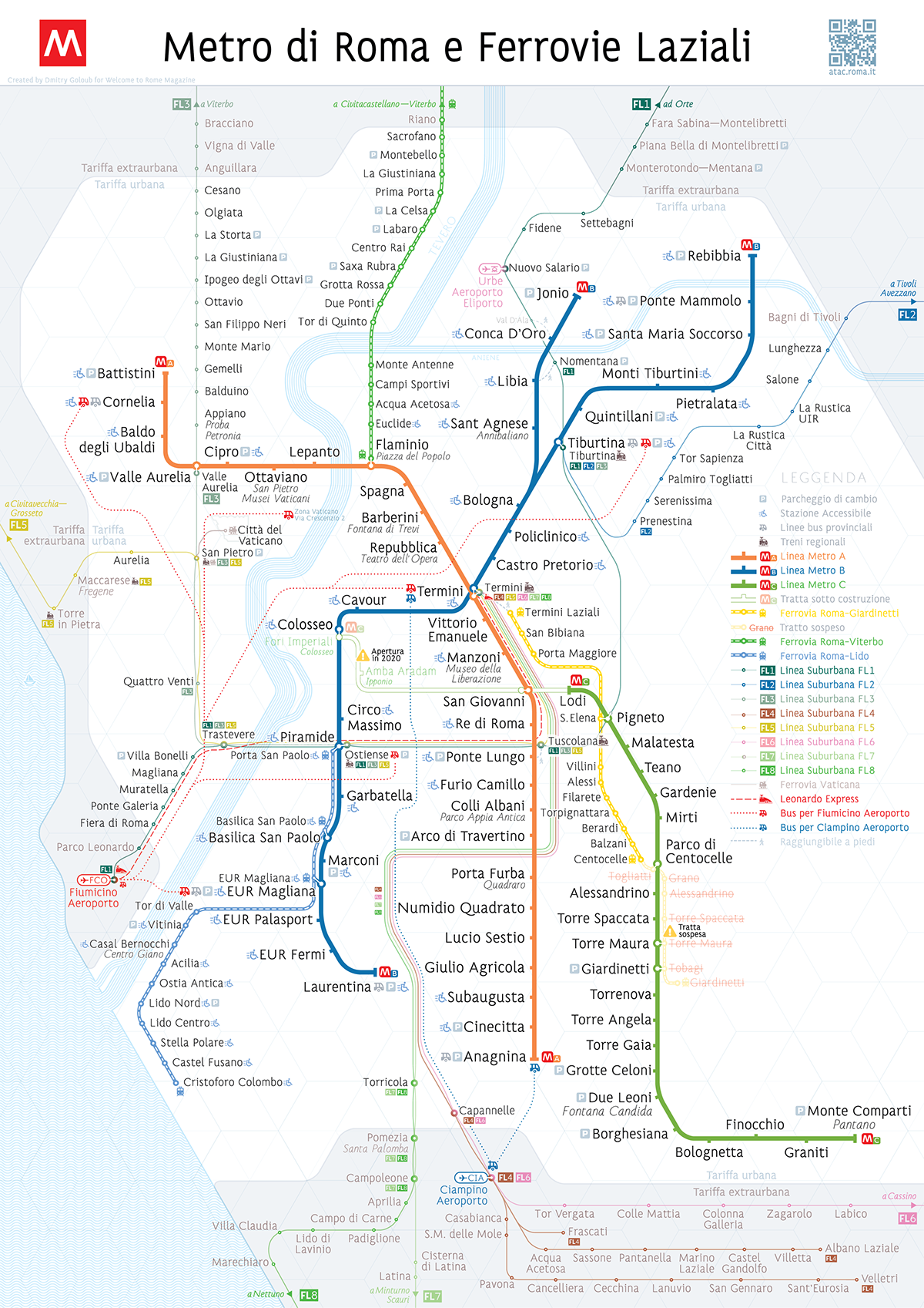 What The Roman Empire Would Look Like If It Was A Subway Map.Rome Metro Map On Behance