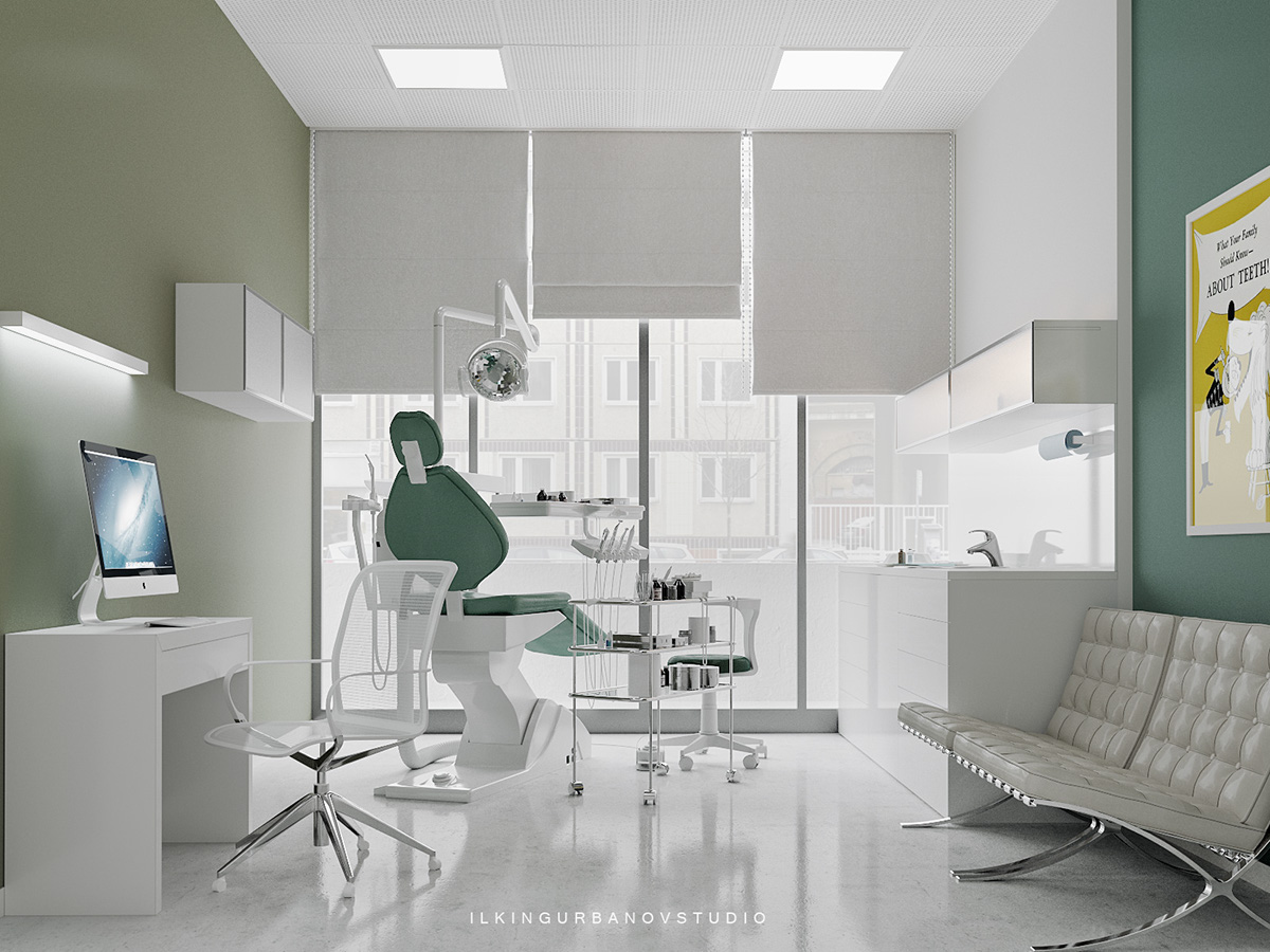 Dental Clinic On Behance