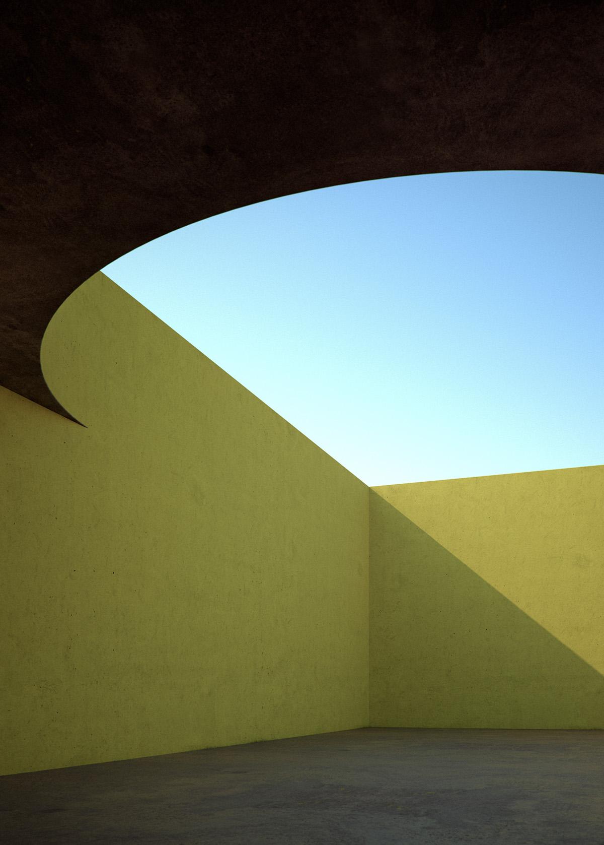 light shadow color CGI 3D rendering cinema4d vray art