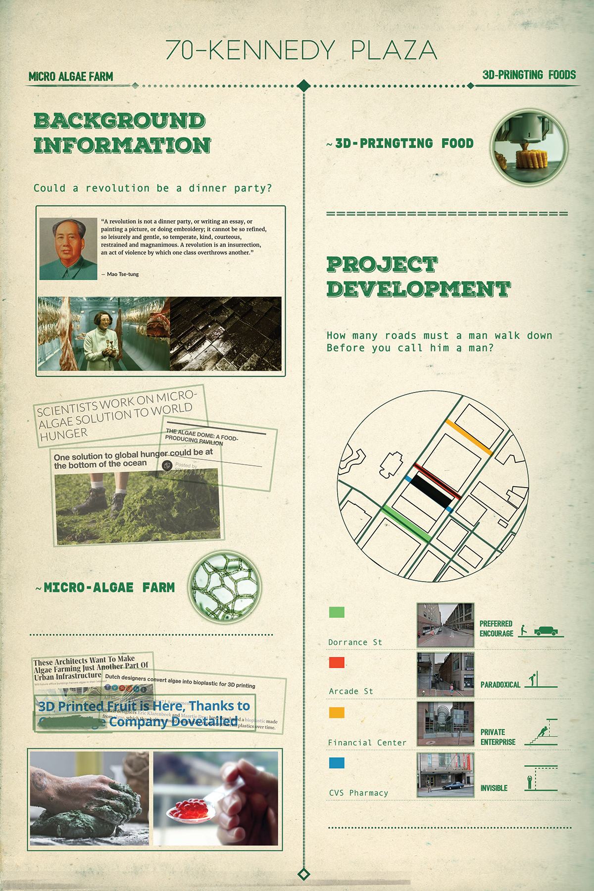 adaptive reuse Algae produce