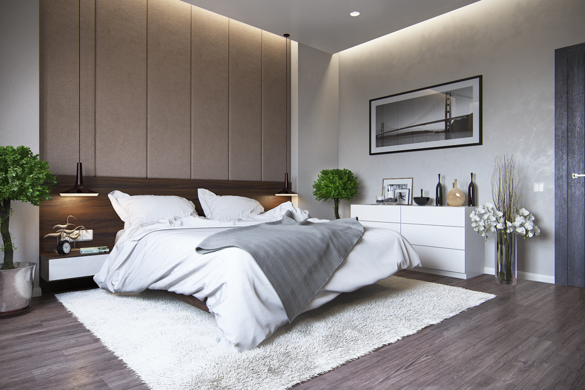 Master Bedroom In Country House 2015 On Behance
