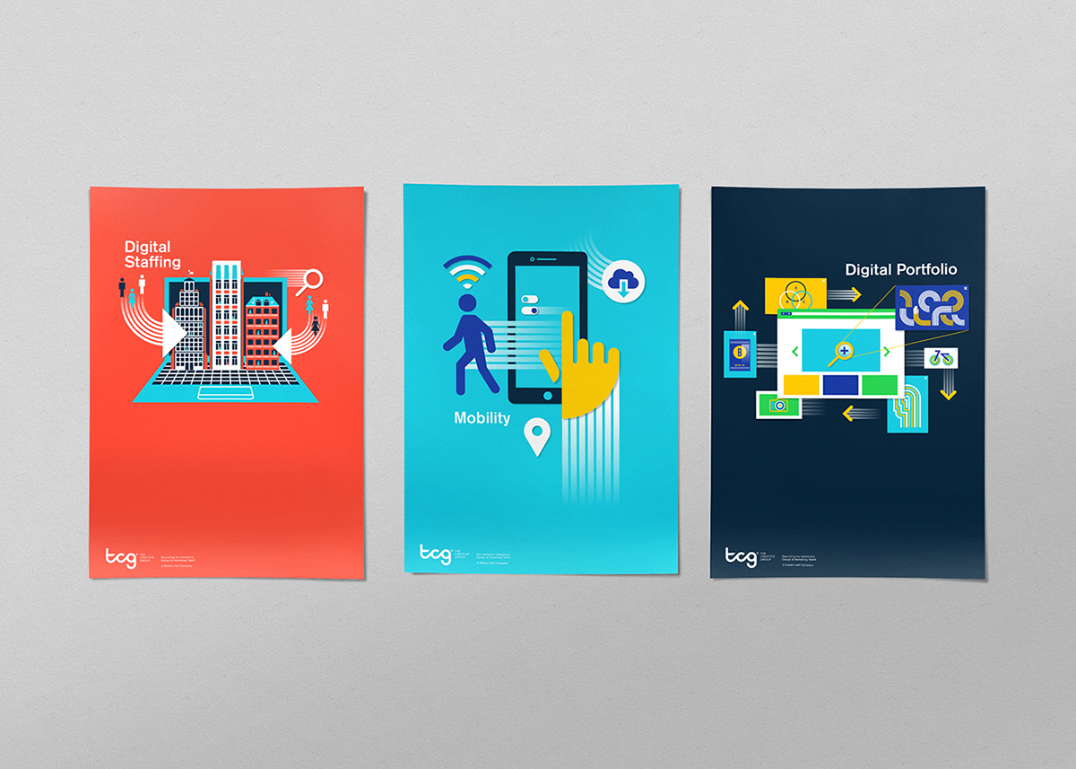 mobil Technology digital Staffing salary Creativity vector Anchor Point wacom tablet brush pen speech bubble graduation poster