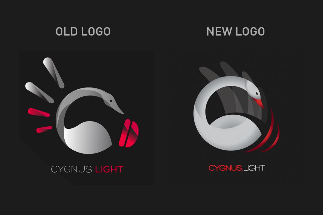 Cygnus logo logos animals animal light lights