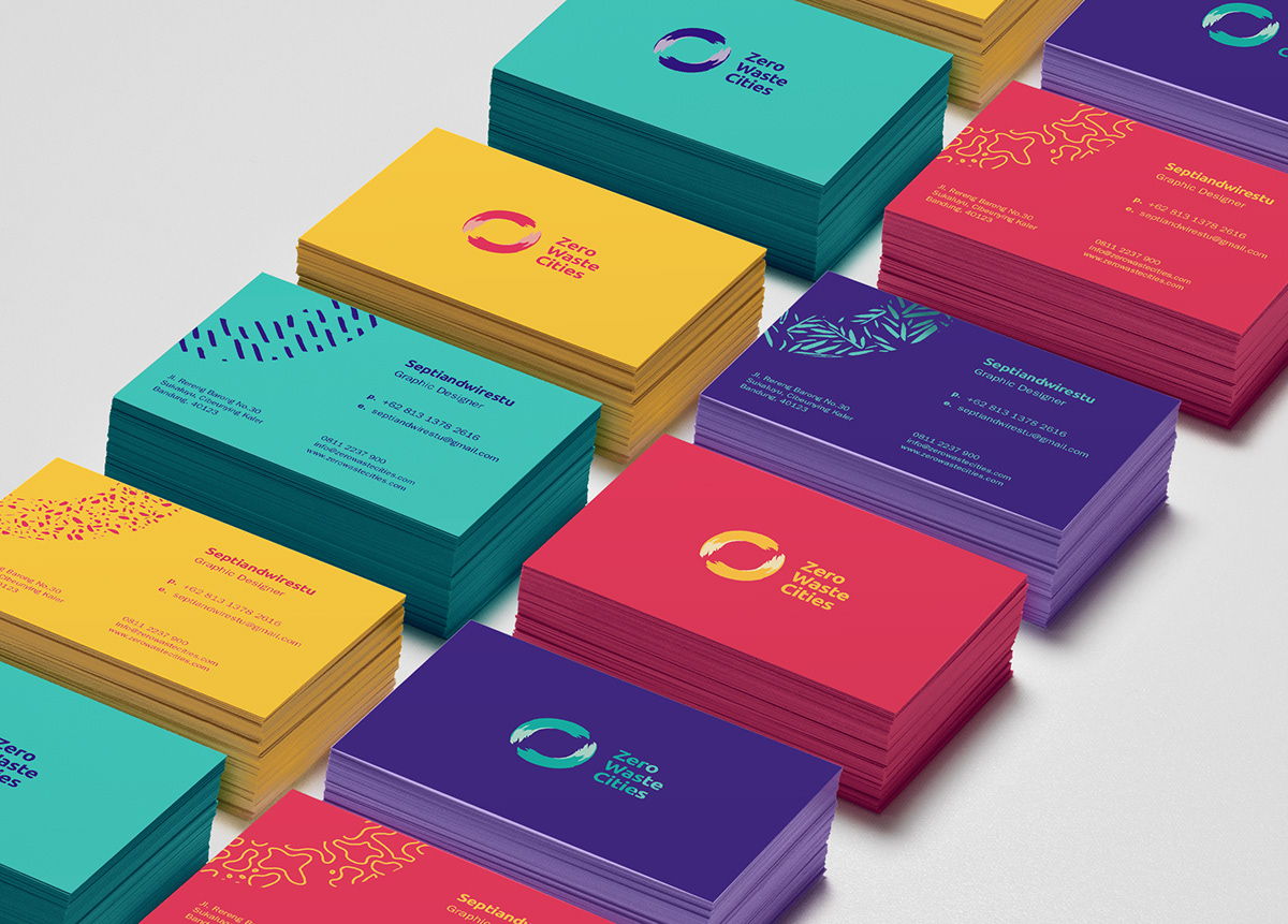 brand identity Nature Stationery Sustainable zero waste