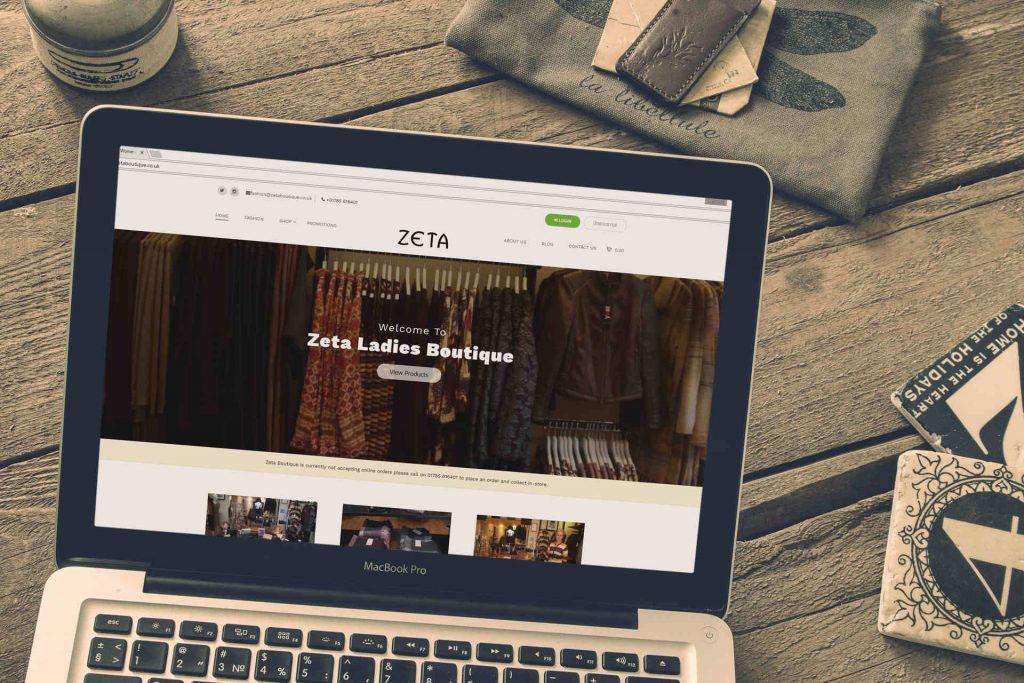wordpress Website Fashion  Retail shop Clothing design development
