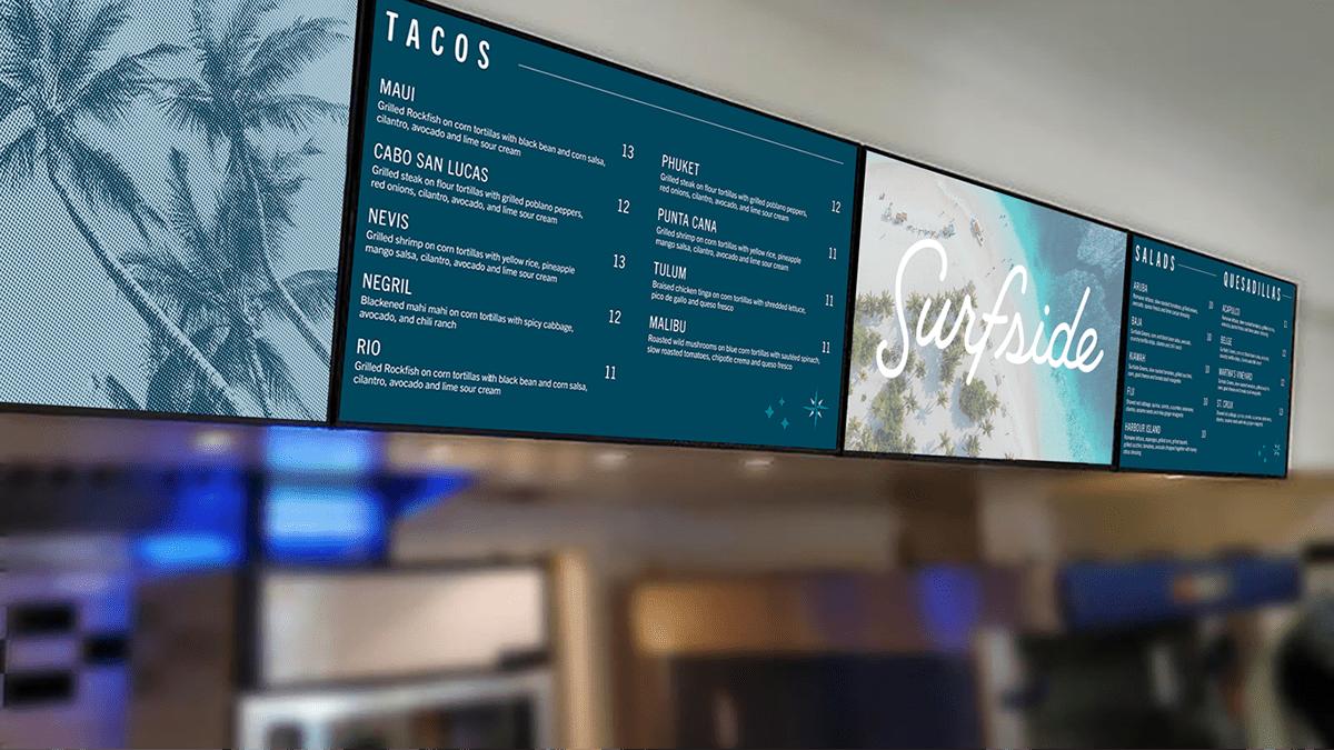 Image may contain: indoor, menu and screenshot