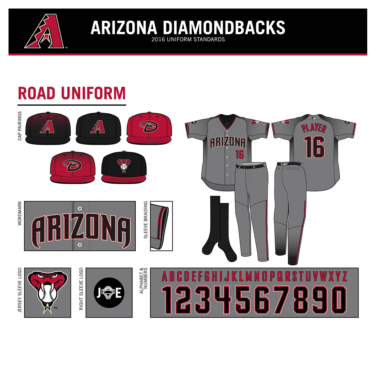 the best attitude fab00 83b58 2016 Arizona Diamondbacks New Uniforms on Behance