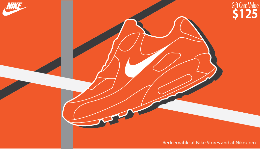 Nike gift card shoes brands