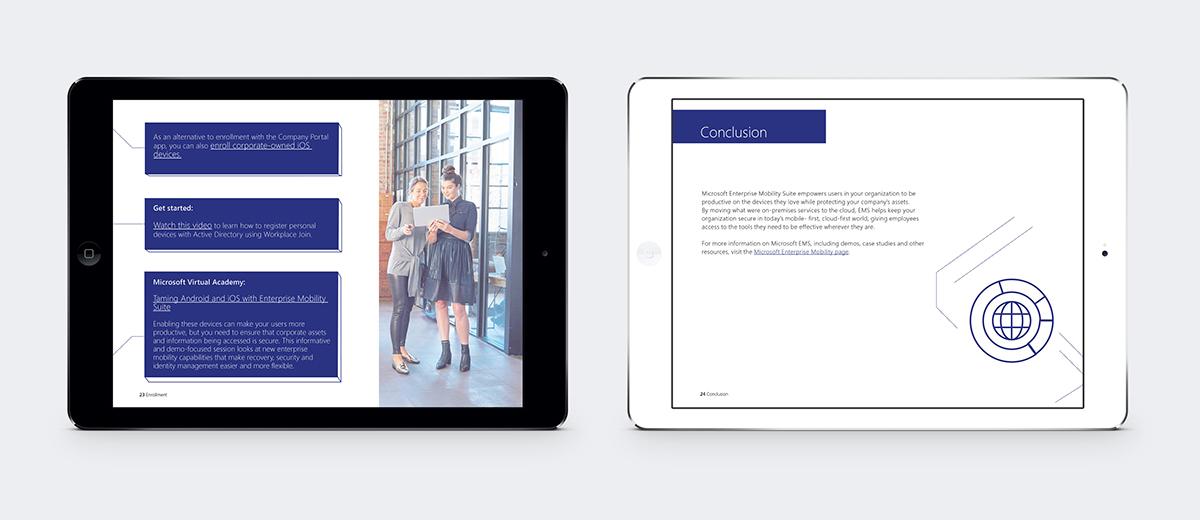 Microsoft eBooks on MICA Portfolios