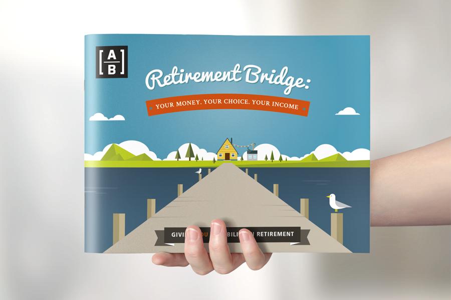 Retirement Infographic Brochure on Behance