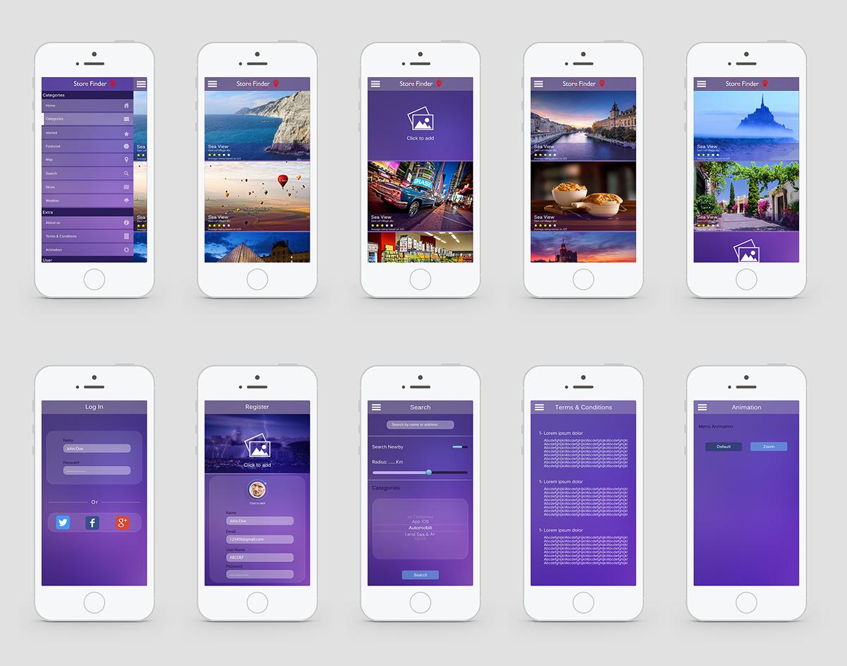 UI/UX Designer  Adobe Photoshop